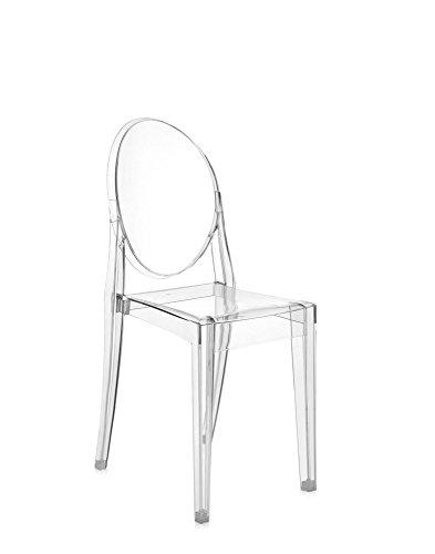 Sedie Plastica Trasparente Colorate.ᐅ Sedia Louis Victoria Lou Lou Ghost Kartell By Philippe Starck
