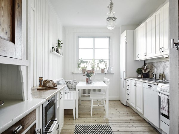Arredare casa col bianco arredamento mobili bianchi for Arredare casa in bianco