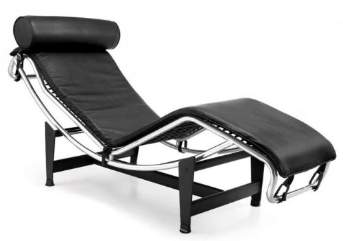 Chaiselongue Mod. Le Corbusier LC4 in pelle