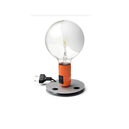 Flos Lampadina LED 2W Lampada da Tavolo Arancione F3300075