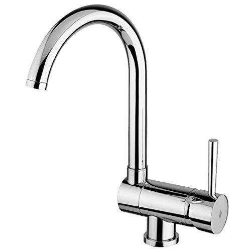 Miscelatore rubinetto sottofinestra abbattibile reclinabile ruotabile cucina - Miscelatore cucina perde acqua ...