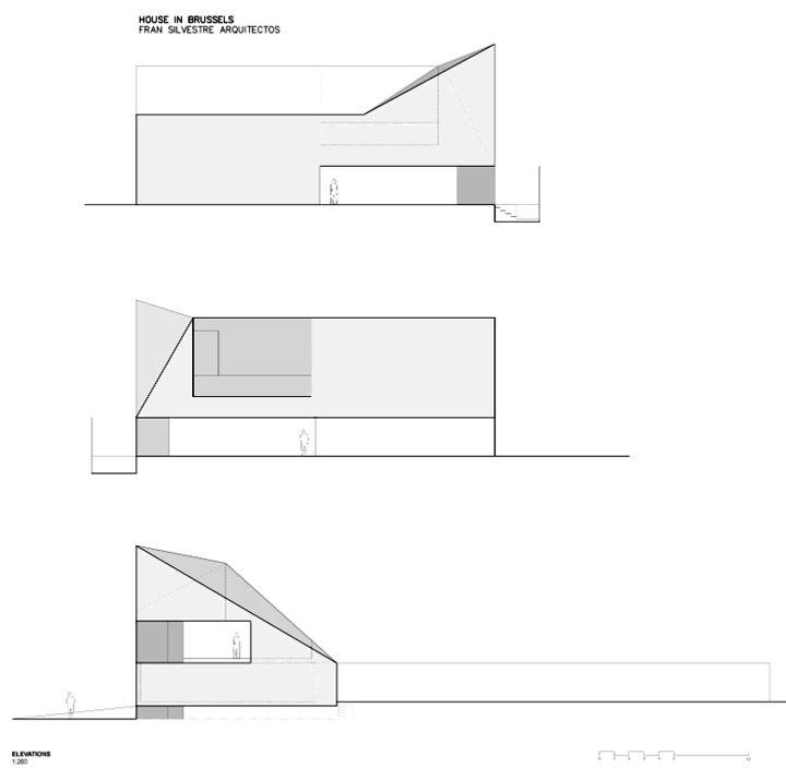 Awesome casa a bruxelles di fran silvestre architetti for Architetto interni on line
