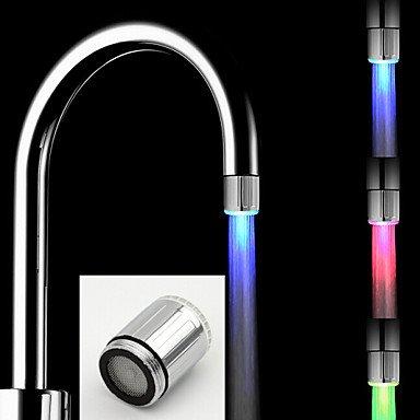 CC Senza batteria stiloso colorato LED rubinetto luce della cucina