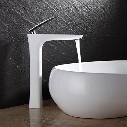 Miscelatori rubinetti colorati bianchi neri rossi oro x for Rubinetti lavello leroy merlin