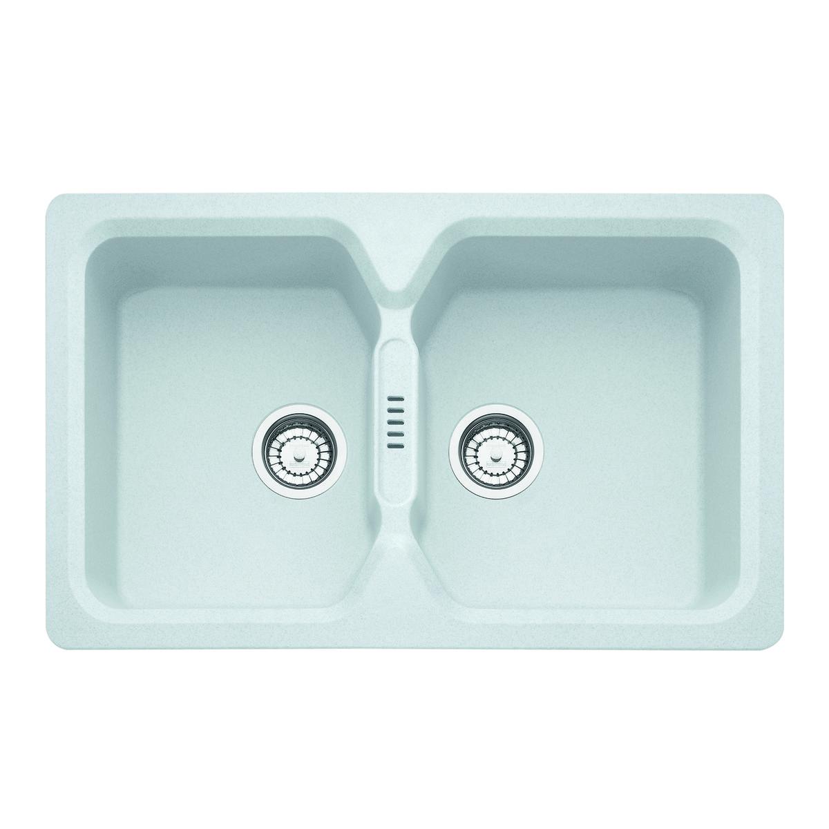 ᐅ LAVELLO in FRAGRANITE BIANCO cucina una due vasche ᐅ Prezzi