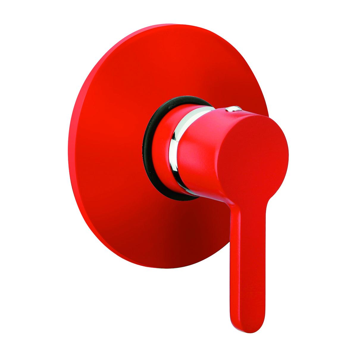 Sensea Miscelatore incasso doccia Colore rosso