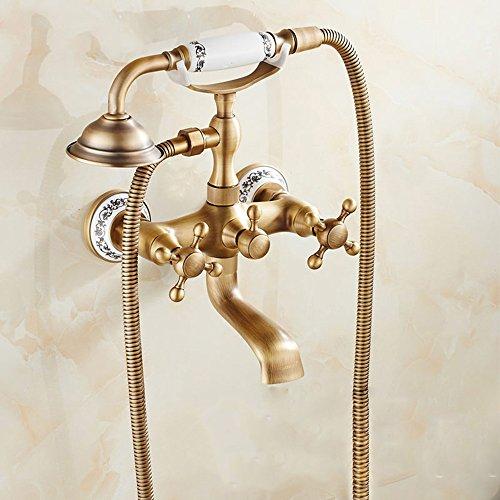 Miscelatori e rubinetto in rame ottone e bronzo - Rubinetto a parete bagno ...