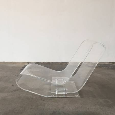 Chaise longue Kartell LCP laterale