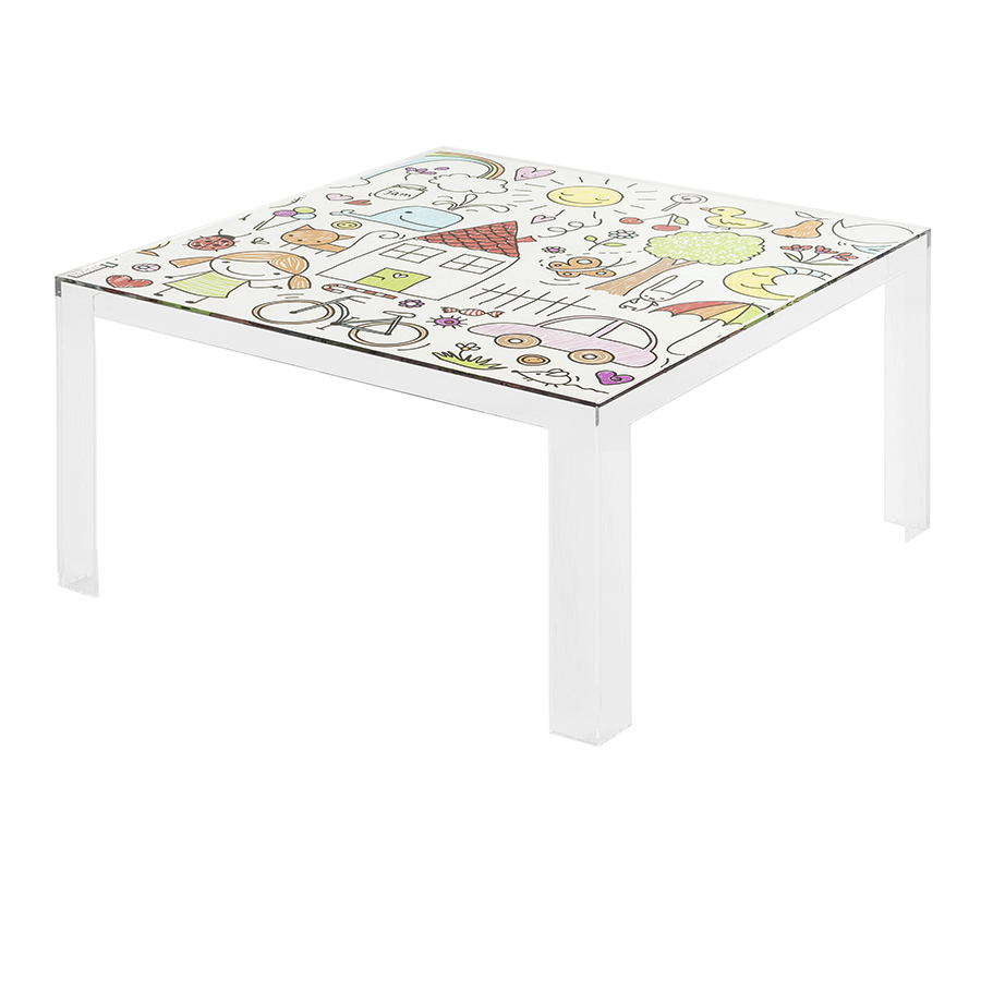 KARTELL KIDS tavolino INVISIBLE