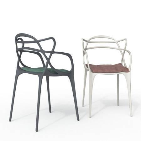 KARTELL - Masters Chair con cuscini