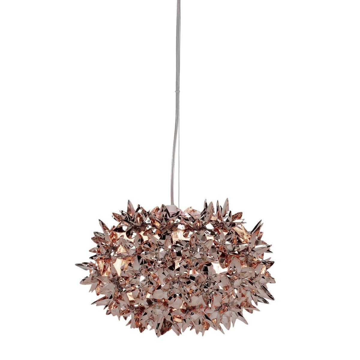 Lampada Kartell Bloom Metallic Ball Suspension - Bronze